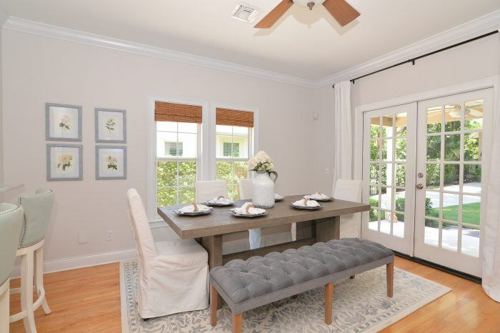 home staging winter park florida dining room