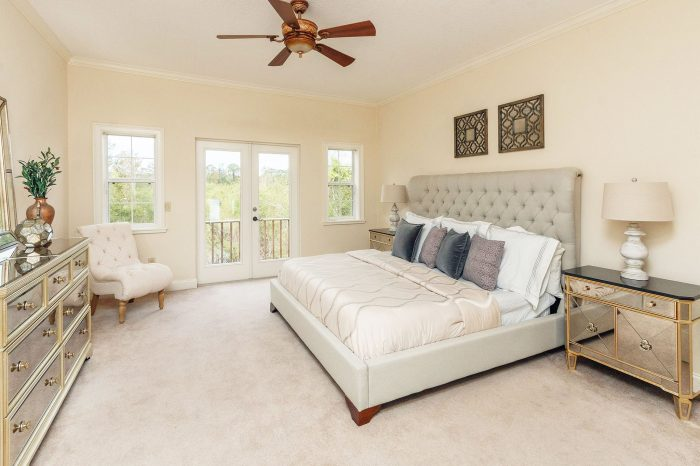 townhome-bedroom i and i homes home staging orlando