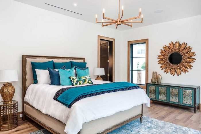 parade of homes home staging orlando master bedroom